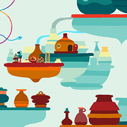 Hohokum by Honeyslug in collaboration with Richard Hogg     Hohokum by Honeyslug in collaboration with Richard Hogg