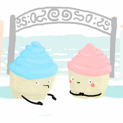 Snow Cones, an adorable day out from Team Laserbeam.