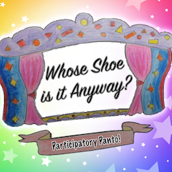 Join the Silly Ideas Factory for panto game Whose Shoe Is It Anyway?