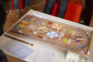 Jerry Carpenter's Instant Gamemaker Bagatelle board